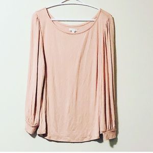 🌟5 for $20🌟 14th & Union Pink Ribbed Top